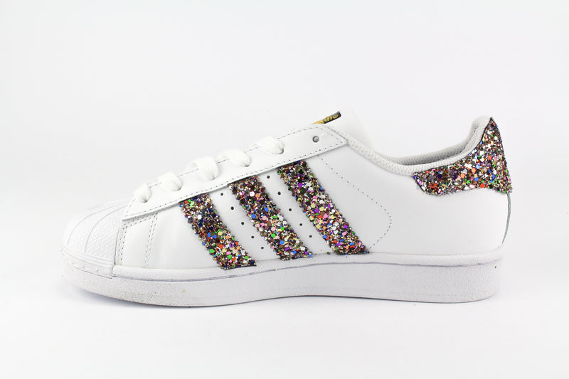 Adidas Superstar Multicolor Glitter