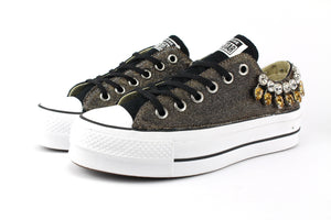 Converse All Star Platform Gioielli & Lurex