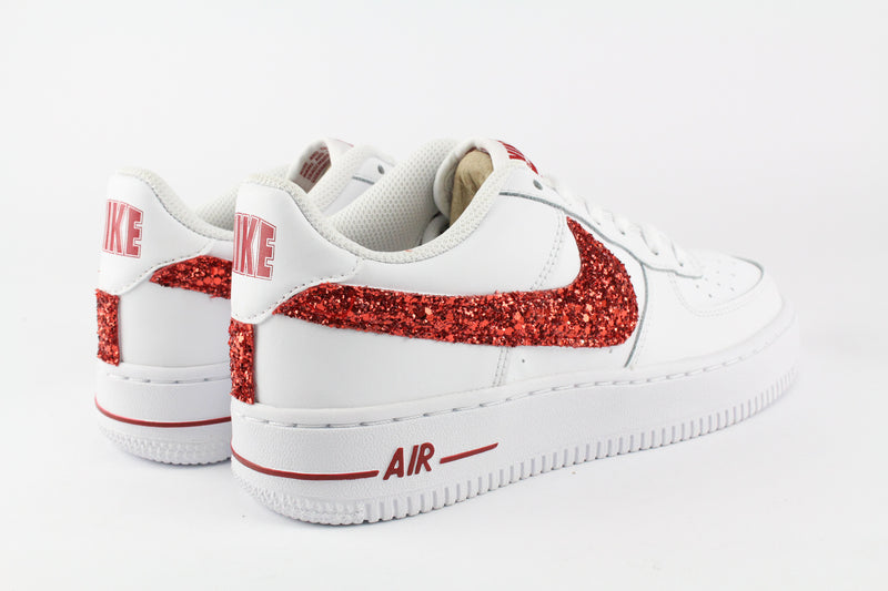 Nike Air Force 1 '07 Red Glitter