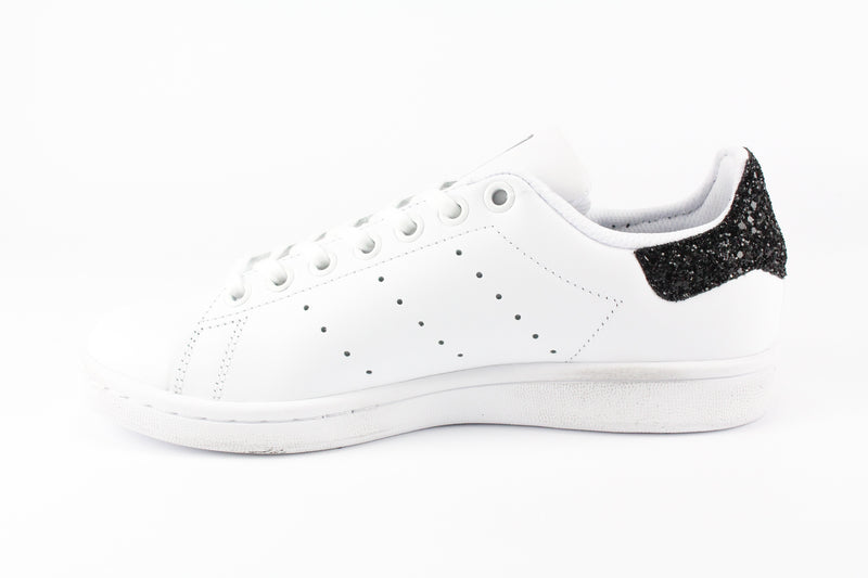 Adidas Stan Smith Stelline Black Silver Glitter