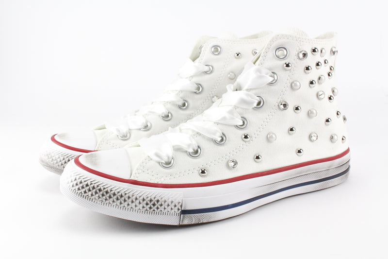 Converse All Star Strass & Lacci Raso