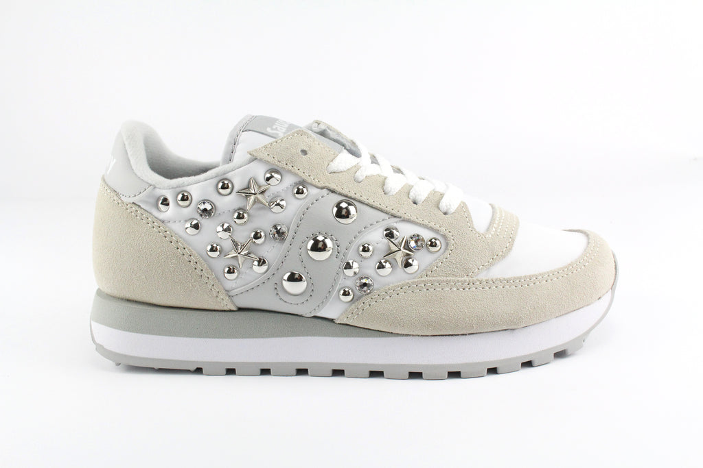 Saucony Jazz White personalizzate
