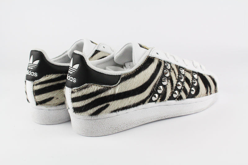 Adidas Superstar Total Cavallino Zebrato & Borchie
