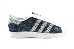 Adidas Superstar Total Glitter Navy