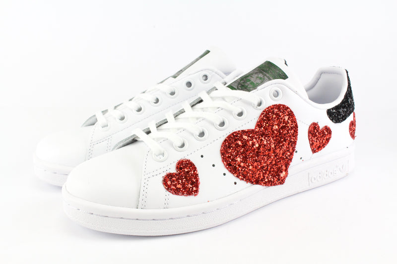 Adidas Stan Smith Cuori Rossi