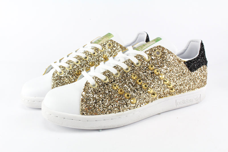 Adidas Stan Smith Total Glitter Gold & Borchie