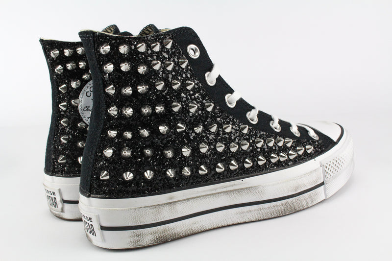 Converse All Star Platform Total Borchie & Glitter
