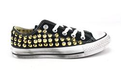 Converse All Star Total Borchie Gold