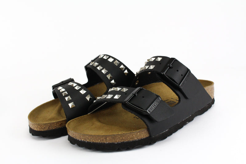 Birkenstock Arizona Black Borchie