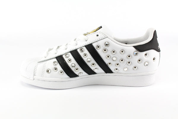 Adidas Superstar Personalizzate Total Borchie & Strass