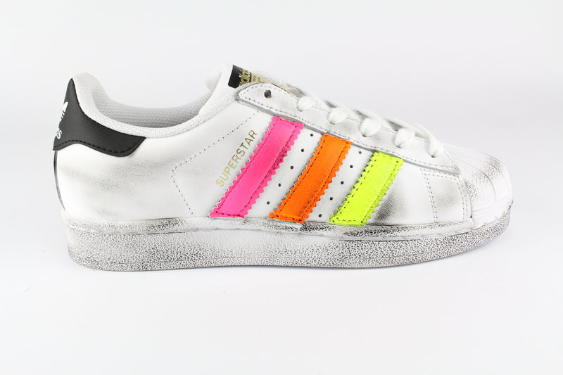 Adidas Superstar Multi Fluo