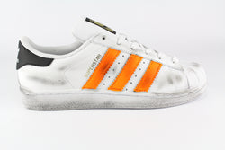 Adidas Superstar Orange Fluo