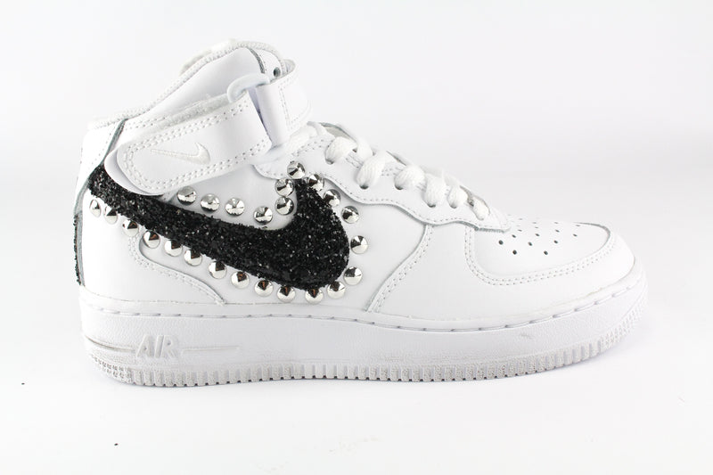 air force 1 donna con borchie