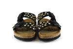 Birkenstock Arizona Black Strass & Borchie Oro