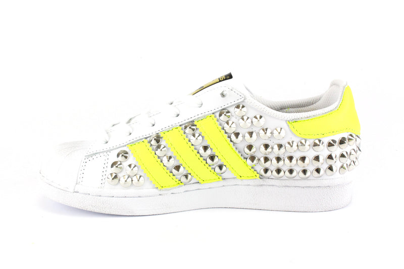 Adidas Superstar Total Borchie & Giallo Fluo