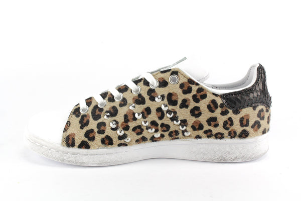 Adidas Stan Smith Total Cavallino Maculato & Borchie