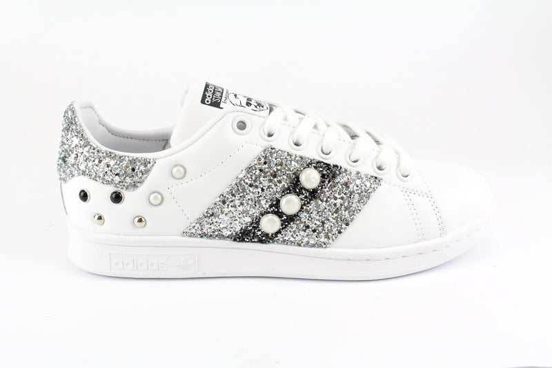 Adidas Stan Smith Bande Glitter Borchie & Perle