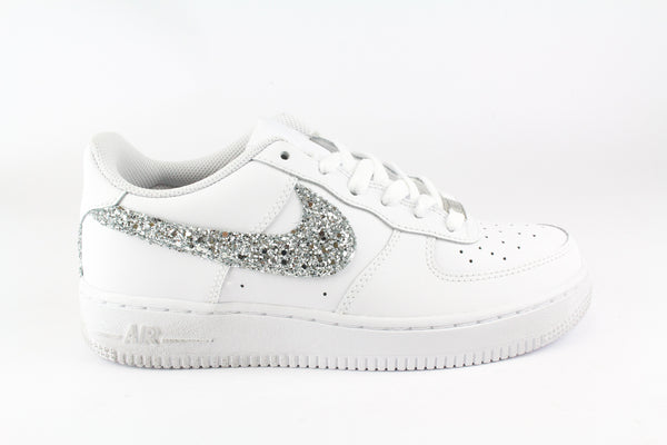Nike Air Force 1 '07 Silver Glitter