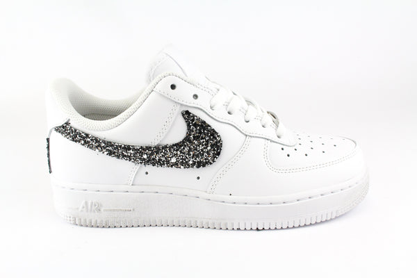 Nike Air Force 1 '07 Glitter Black Silver