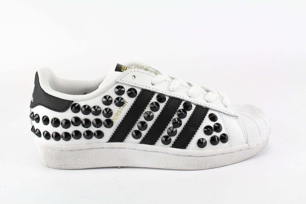 Adidas Superstar Total Borchie Black
