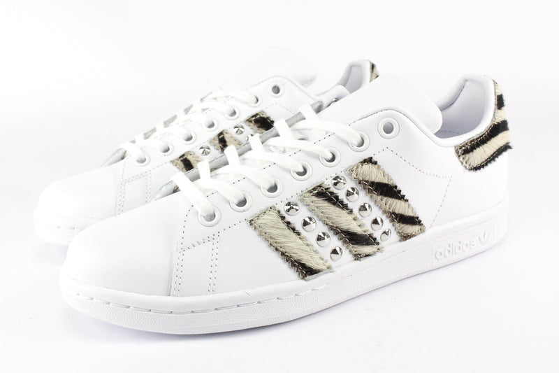 Adidas Stan Smith Cavallino Zebrato & Borchie