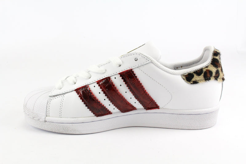 Adidas Superstar Maculate Cocco Rosso & Strass