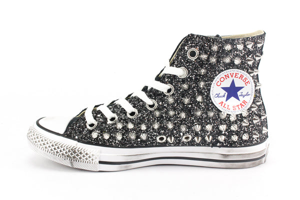 Converse All Star Total Glitter & Borchie