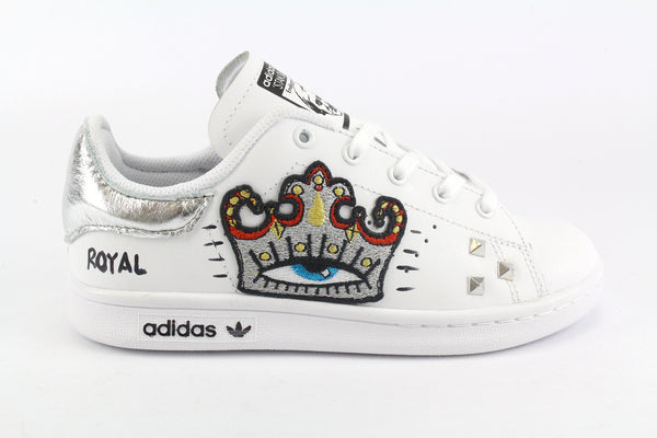 Adidas Stan Smith Silver Crown