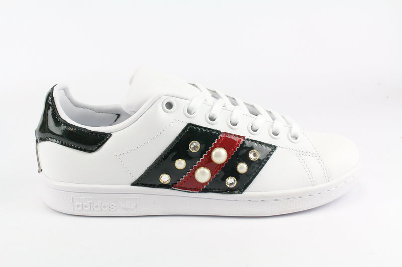 Adidas Stan Smith Bande Pelle & Strass