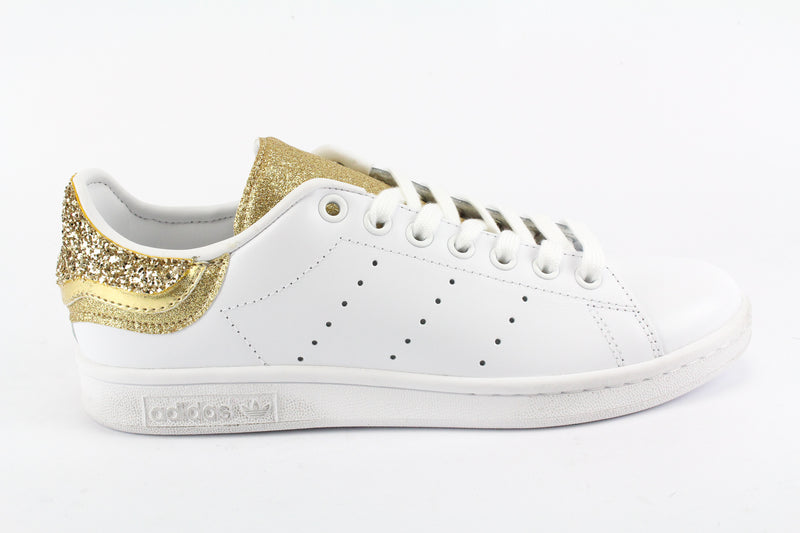 Adidas Stan Smith Gold Multi Glitter & Pelle Laminata