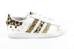 Adidas Superstar Maculate Glitter & Borchie
