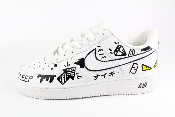 Nike Air Force 1  '07 Yellow Eyes