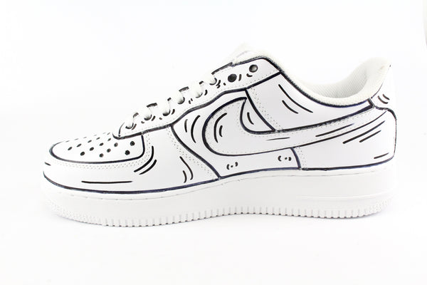 Nike Air Force 1 '07 Cartoons B/W