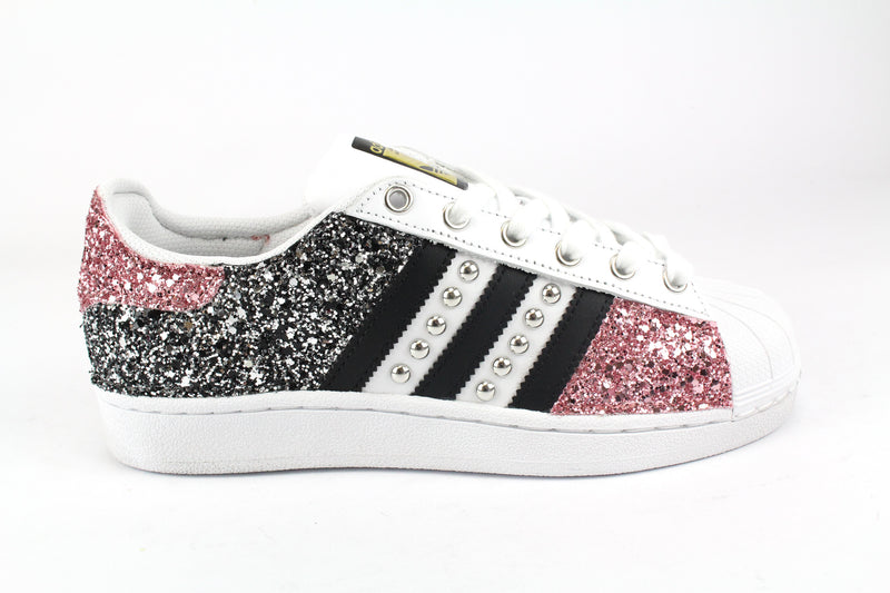 Adidas Superstar Total Glitter & Borchie