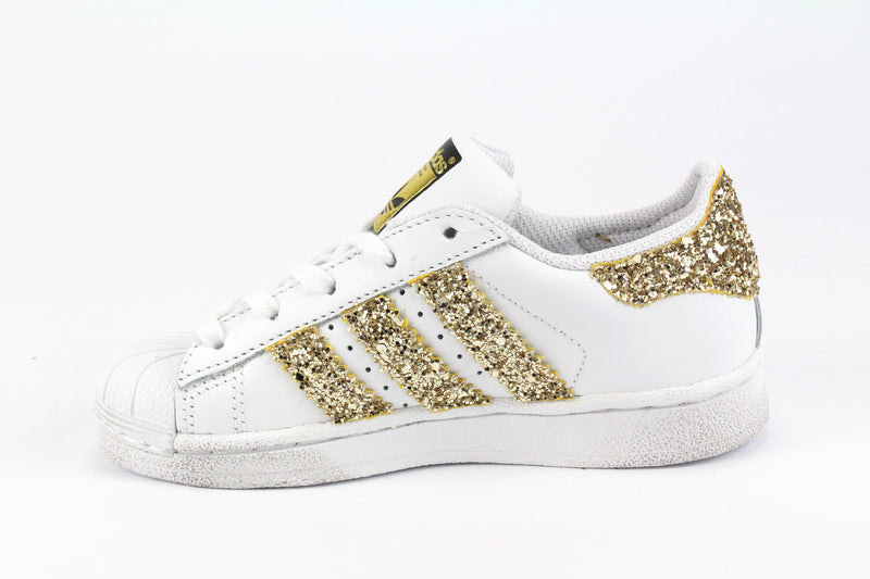 Adidas Superstar Gold Glitter