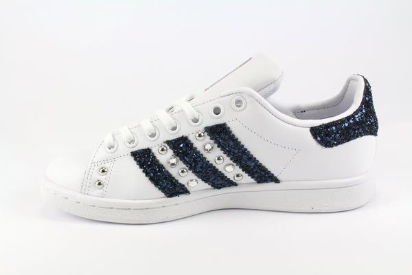 Adidas Stan Smith Glitter Navy & Strass