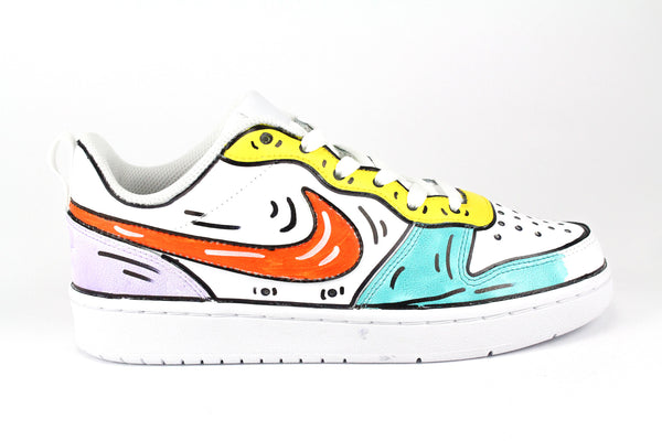 Nike Court Borough Low 2 Cartoons