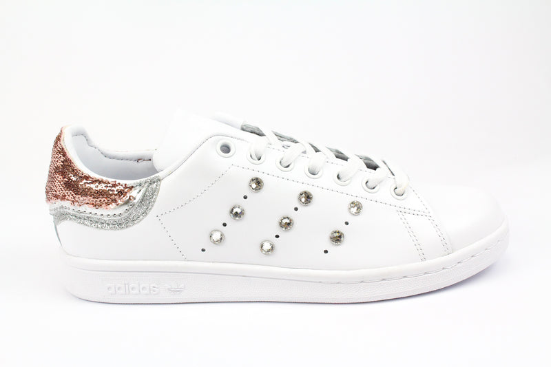 Adidas Stan Smith Paillettes Strass & Pelle Laminata