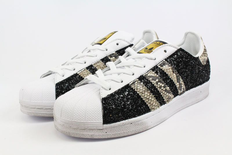 Adidas Superstar Total Glitter & Pitone