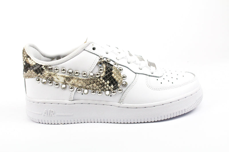 Nike Air Force 1 '07 Pitone Borchie & Strass