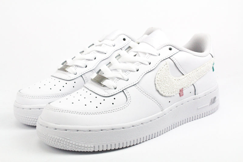 Nike Air Force 1 '07 White Glitter & Ricami