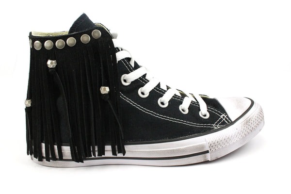 Converse All Star Black & Frange