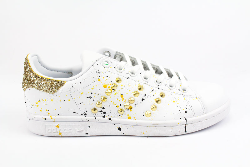 Adidas Stan Smith Gold Borchie Glitter & Vernice