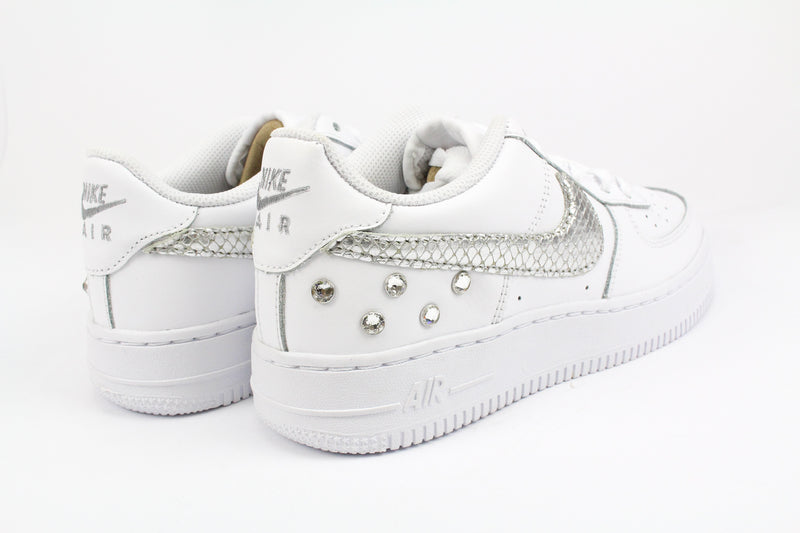 Nike Air Force 1 '07 Pitone Laminato & Strass