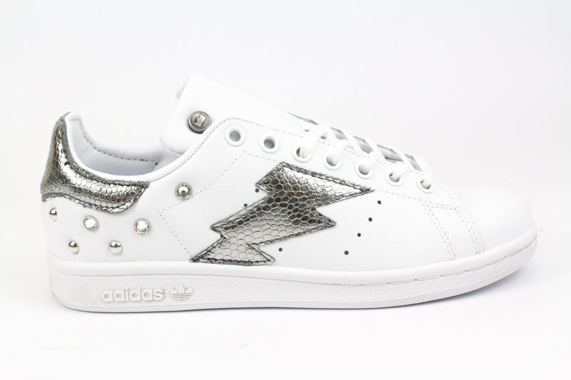 Adidas Stan Smith Fulmine Pitone Laminato & Strass