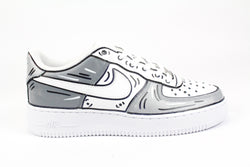 Nike Air Force 1 '07 Grey Cartoons