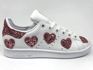 Cuori Rosa Adidas Smith Glitter Stan fyv7gb6Y