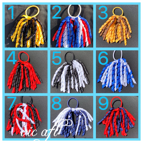 Image of Korkers Hair Ties - AFL & Footy Colours | Oaklands, Moodbury Westfields