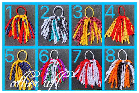 Korkers Hair Ties - AFL & Footy Colours