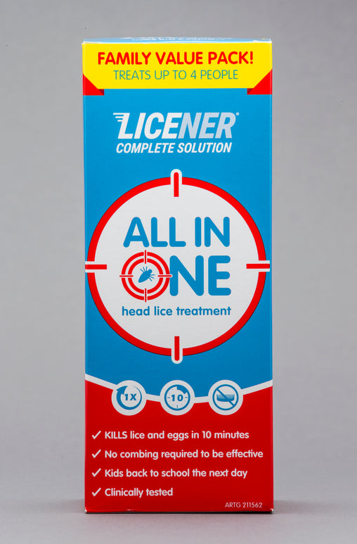 Licener Single Treatment Family Pack 200ml Bottle